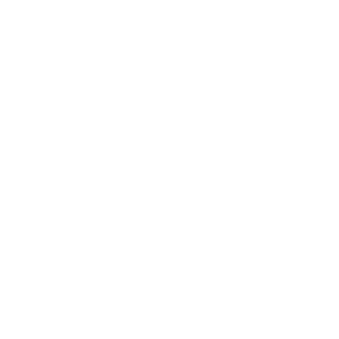 White Project Unicorn Logo on Black Background